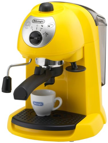 Delonghi espresso / cappuccino maker yellow EC200N-Y by Delonghi