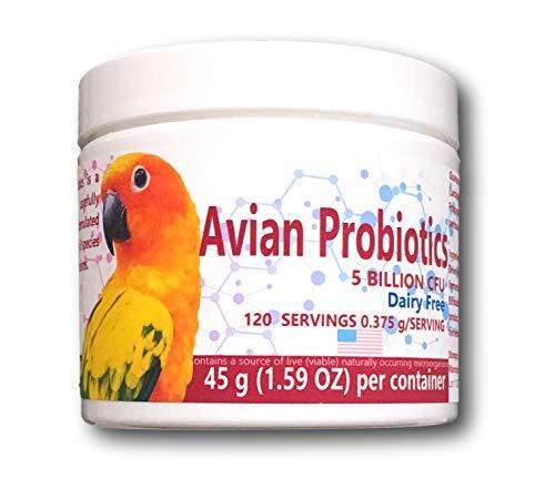 HealthyGut Avian Probiotics | 120 Servings | Dairy Free