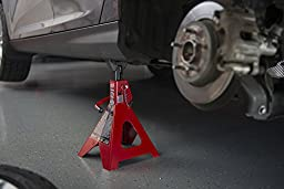 Torin T46002A 6 Ton Double Locking Jack Stands (Sold in Pairs)