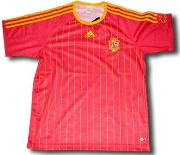 adidas Camiseta España Rojo Home 2006 para Kids Talla:140: Amazon.es: Deportes y aire libre
