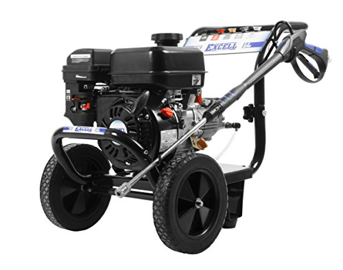 Price comparison product image Excell EPW2123100 3100 PSI 2.8 GPM Cold Water 212CC Gas Powered Pressure Washer