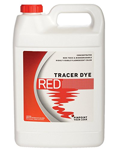 Concentrated Red Tracer Dye - One Gallon (128 - Test Tank