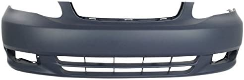 Front Bumper Cover For 2010-2012 Ford Fusion w// fog lamp holes Primed