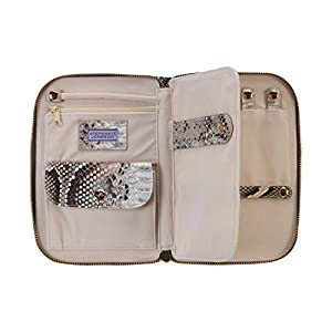 Stephanie Johnson Java Julianna Jewelry Case, Coffee