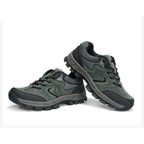 CHT De Otoño E Invierno Amantes Al Aire Libre De Senderismo Zapatos De Los Hombres De Montaña De Tamaño Multi-código Rojo Verde Marrón Gris Opcional gray-women-40