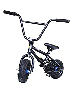 Kobe Mini Bmx Bike Pro Bicycle Black Blue