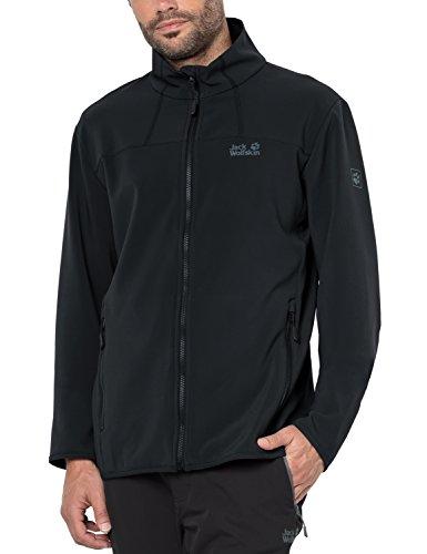 Jack Wolfskin Men's Essential altis Jacket, Medium, Black