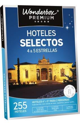 WONDERBOX Caja Regalo -HOTELES SELECTOS- 255 hoteles seleccionados de 4* y 5* para Dos Personas: Amazon.es: Deportes y aire libre