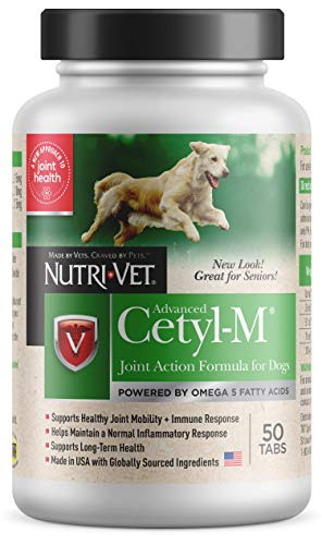 Cetyl M Joint Action Formula for Dogs, 50Count