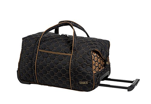 cinda b Carry-On Rolly, Mod Tortoise, One Size by Cinda b.