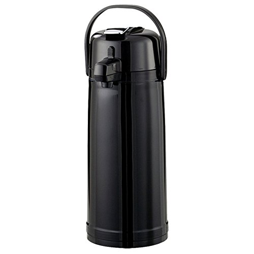 Service Ideas ECALS22PBLK Eco-Air Airpot with Lever, Plastic, Stainless Steel Liner, 2.4 L by Service Ideas