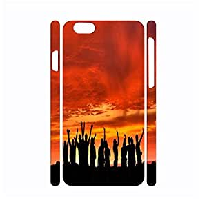 Customized Dustproof Special Romantic Pattern Phone Accessories Shell for Iphone 6 Case - 4.7 Inch