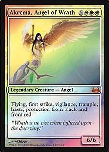 Magic: the Gathering - Akroma, Angel of Wrath - Duel Decks: Divine vs Demonic - Foil ()