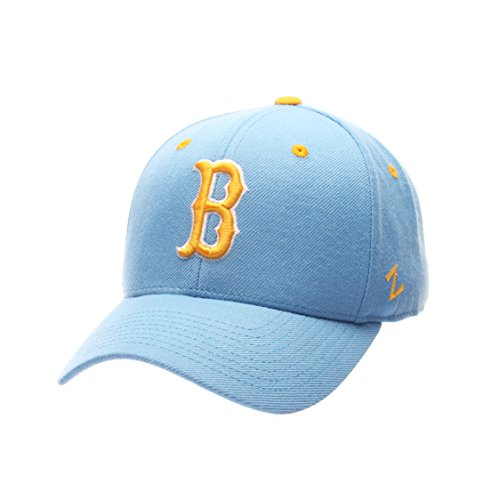 ZHATS NCAA UCLA Bruins Men's DH Fitted Cap, Light Blue, Size 7 1/2 -