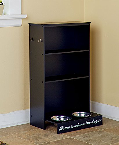 The Lakeside Collection Pet Storage Center Black Dog from The Lakeside Collection