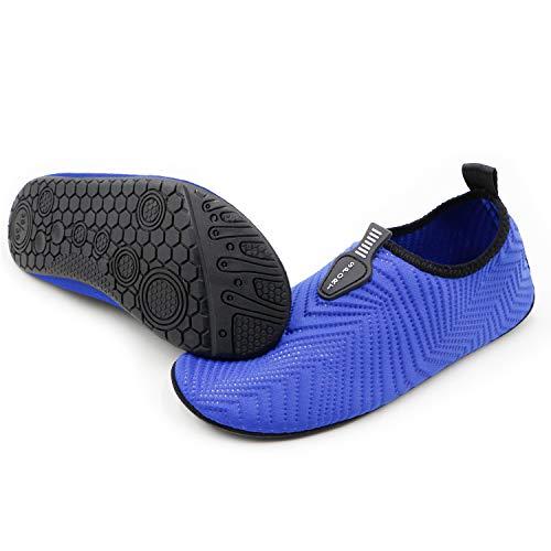 KARAZZO Mens Womens Water Shoes Aqua Shoes Socks Quick-Dry Lightweight Barefoot Shoes