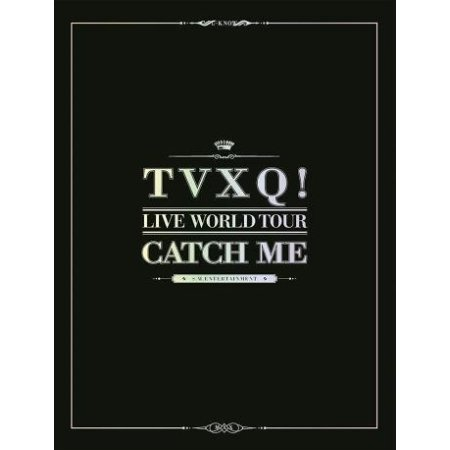(TVXQ! Live World Tour Catch Me (148P Photobook+Postcard Included Package Box))