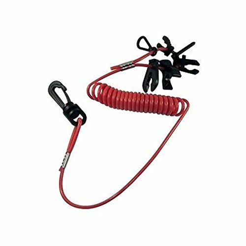 Boat Kill Switch Keys with Lanyard