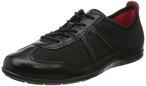 ECCO Women's Bluma Summer Sneaker,Black,40 EU/9-9.5 M US