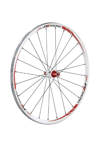 PZ Racing CR2.3W Clincher Campy Wheel Set, Anodized Black