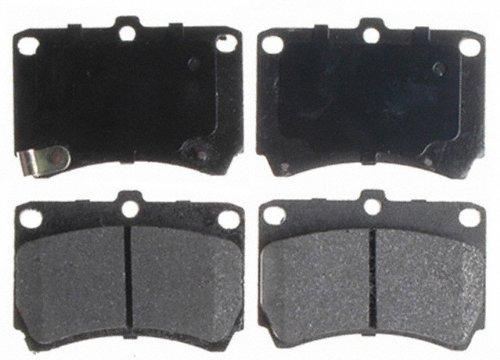 Raybestos SGD466M Service Grade Semi-Metallic Disc Brake Pad Set