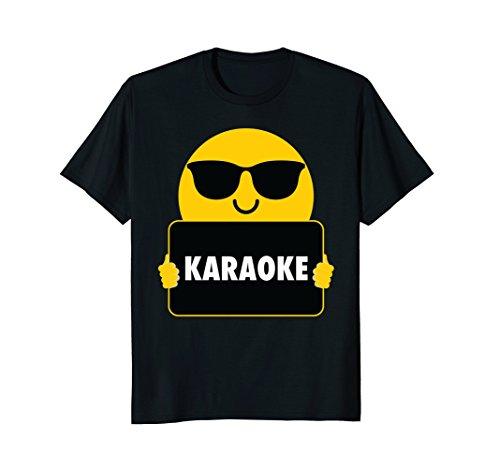 Karaoke Shirt Sunglasses T-Shirt - Sunglasses Karaoke