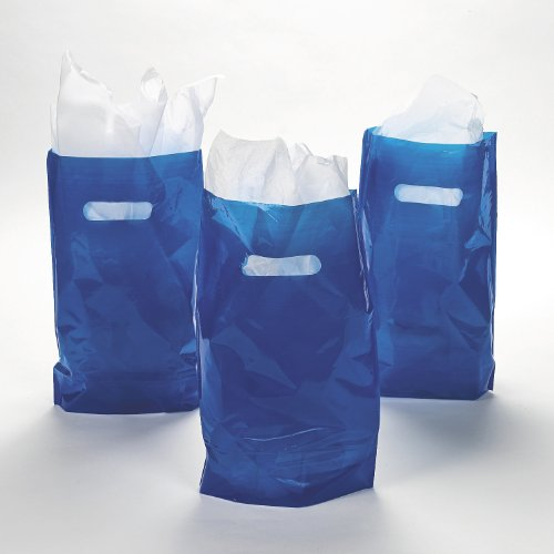 Blue Plastic Bags 50 pc
