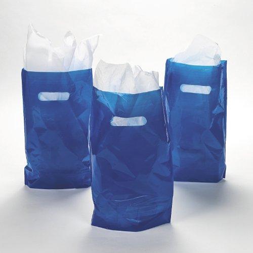 Blue Plastic Bags 50 pc
