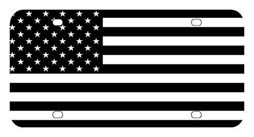 L148 AMERICAN FLAG License Plate Front Custom Novelty Tag Vanity Frame Holder Wrap Wraps ()