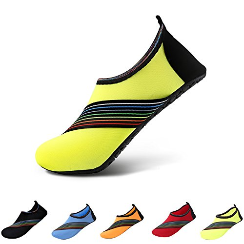 Run Dive Skin LUYI Shoes Swim Water Sd JACKY Dry Shoes Womens Quick yellow Socks Yoga Aqua Sports Beach Lightweight Surf Mens Shoes w0qWwpB8