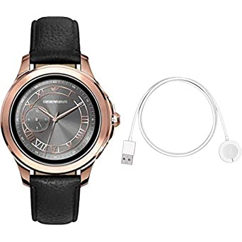 22072fb111 Amazon | <スマートウォッチ&ワイヤレス充電器セット> EMPORIO ARMANI 腕時計 ALBERTO TOUCHSCREEN  SMARTWATCH ART5012 メンズ 【正規輸入品】 | 腕時計 | 腕時計 通販