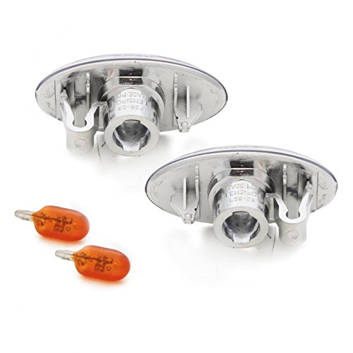 REPETITEURS CLIGNOTANTS LATERAUX CHROME AVEC LOUPES TUNING SPORT 03152 europetuning