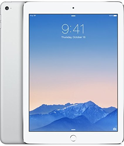 Apple iPad Air 2 Tablet (9.7 inch, 16GB, Wi-Fi Only), Silver