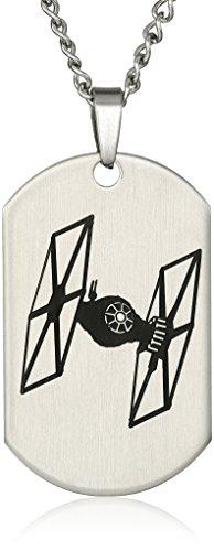 Star Wars Jewelry Episode 7 Tie Fighter Laser Etched Dog ...