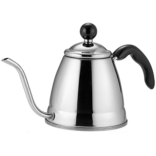 Fino Pour Over Coffee Kettle, 18/8 Stainless Steel, 6-Cup, 1.2L Capacity