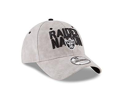 Oakland Raiders 2018 Spotlight 9TWENTY Adjustable Strapback Hat by New Era