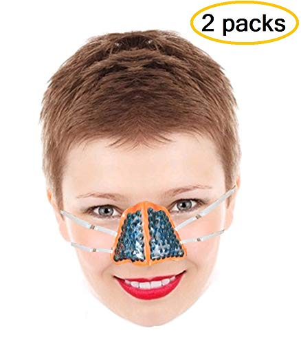 (BodyMoves Exclusive Nose Gel Pack for hot and Cold Therapy )