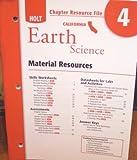 Crf Ch #4 Hlt California Sci 2007 Earth