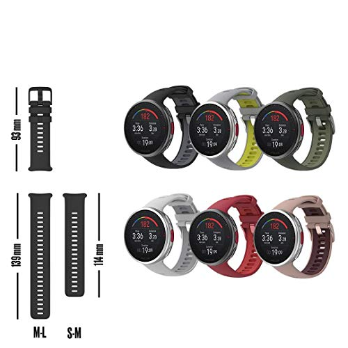 POLAR Vantage V2 Wrist-Based Heart Rate Measurement for Running, Swimming, Cycling, Strength Training