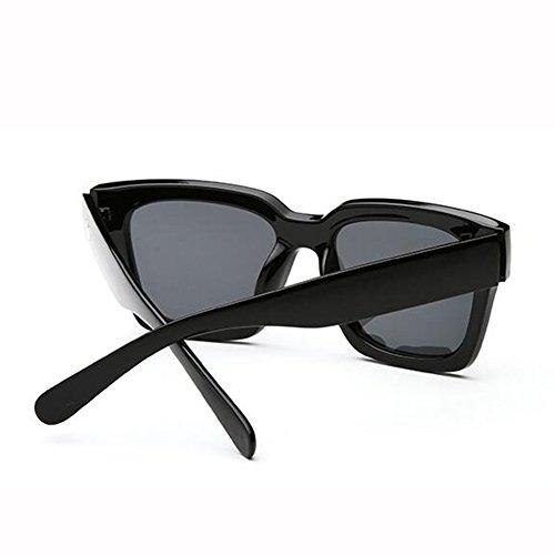 Personalidad De Cuadrada Cara Gafas Hombre De de Redonda Gafas gafas 2 Gafas Hembra masculinas ZX Color UV De Sol Polarizadas Retro Larga Hipster Caja Anti Sol Cara ZX Grande 2 sol qvX0wnqR