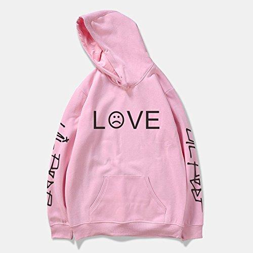 wangxiyan Lil Peep R.I.P. Love Printed Men/Women Fashion Sport Hip Hop Hoodie Sweatshirt Casual Pocket Long Sleeve Thin Fleece Hoodies Pullovers Coat Tops Outdoor by wangxiyan (Image #5)