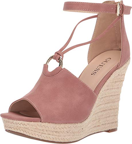 (GUESS Women's Hadwinn Pink 8 M US)