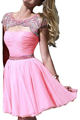 Missdressy - Vestido - trapecio - para mujer rosa 34
