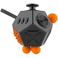 لعبة مكعب روبيك من 12 وجهًا محركًا تضم سبينر وسطح مكتب واحجية سحرية ومكعبات دوارة والعاب دورانية لتخفيف التوتر، لعبة…