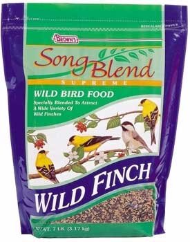 Fm Browns BBN40910 Wild Finch Seed Blend for Birds, 7-Pound  6-Pack