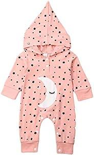 puseky Siblings Matching Sleepwear Moon Star Print Nightwear for Brothers and Sisters