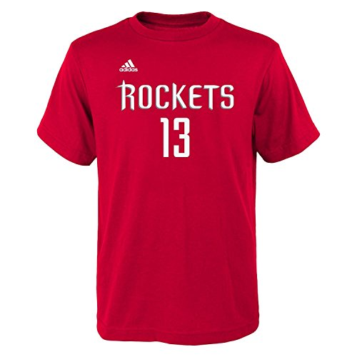 James Harden Houston Rockets Youth Adidas NBA Player Red - Harden James Fashion