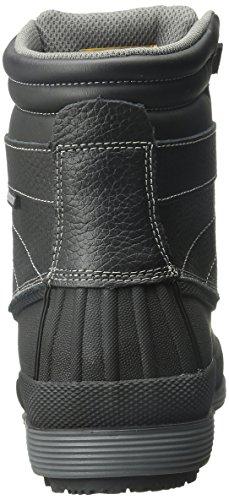 Skechers for Work Women's Duck Rain Boot, Black, 6.5 M US