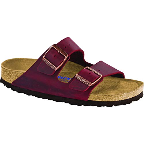 Birkenstock Arizona Soft Footbed 42 Zinfandel Oiled Leather ()
