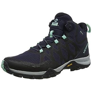 Merrell Women's Siren 3 Mid Gore-Tex High Rise Hiking Boots, Blue (Navy/Dragonfly), 3.5 (36 EU) 3